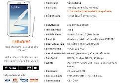 Galaxy Note 8.0 có thể bán với giá 12 triệu đồng tại Việt Nam