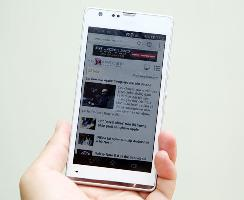 Sony Xperia SP sẽ bán tại VN tháng 5